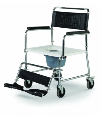 Wózek inwalidzki toaletowo/prysznicowy Meyra HCDA XXL